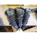 LOT OF ELECTRIC HAND GRINDERS (3)