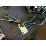 LOT OF CUTTING TORCH HEADS (5), assorted