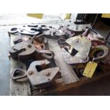 LOT OF PLATE DOGS, assorted  (for rebuild) (on one pallet)