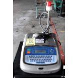 PROGRAMMABLE INK JET CODER, LINX MDL. 4900, S/N BT46 on carbon steel cart