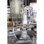 AUTOMATIC CAN SEAMER, CANCO MDL. 8, sgl. head, atmospheric 40 CPM, currently set for 401 dia., on