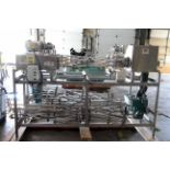 CONVEYOR, CONFAB SYSTEMS INC. MDL. CFS TWIST SPIRAL CAN & METERING SYSTEM, stainless steel,