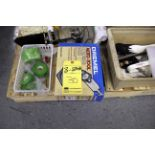LOT OF MISC. EQUIPMENT  (on three pallets)