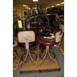 LOT OF SWIVEL CHAIRS (approx. 8) (on one pallet)