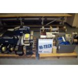 AUTOMATIC TAPE SHOOTERS, MARSH & CYCLOP, w/L-Bar sealer & packing tape  (approx. 12)
