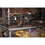HYDRAULIC CYLINDER REBUILD FACILITY, INCL.:Large Hyd. Power Source;; hyd. cylinder test bench;