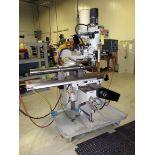 CNC VERTICAL TURRET MILL, REPUBLIC LAGUN MDL. MILLMATIC-II DELUXE 3L, Acu-Rite Mill-PWR 2-axis CNC