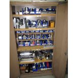 CABINET, w/tooling, misc.