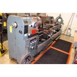 """GAP BED ENGINE LATHE, CHIN HUNG 22"""" X 120"""", new 1997, 4-1/2"""" spdl. hole, spds: 30-1200 RPM, inch/"""