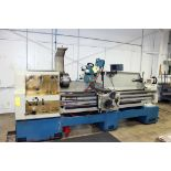 """GAP BED ENGINE LATHE, TARNOW 21"""" X 80"""" MDL. TUJ560M, spds: 20-1600 RPM, inch/metric thdng., taper"""