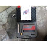 LOT CONSISTING OF SWISS PRECISION INSTRUMENT PORTABLE ROUGHNESS TESTER w/case & ANALOG MDL. 306L