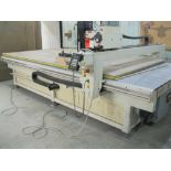 2005 AXYZ Automation CNC dual-spindle router, model 7012 S/N 01164 w/dust collector