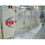 2007 Breton CNC router contouring machining center model ContourBreton NC260-K23 S/N 33069 table