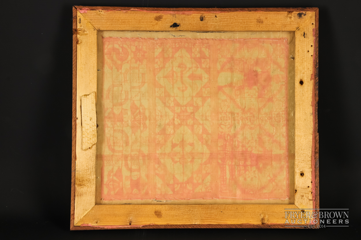 A rare reticella and hollie point needlelace sampler, 16th/17th century worked with a male and - Image 5 of 7