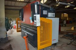 Carter CNC press brake, Guillotine and Universal metal worker