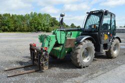 Usual Contractors Plant sale including telehandlers, mini excavators, dumpers, rollers, skid steer, compressors etc