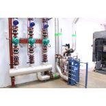 Heat exchanger, Pumps & Fittings