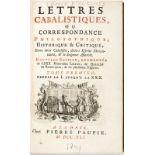 [BOYER D'ARGENS (Jean Baptiste de)]. Lettres cabalistiques ou correspondance philosophique