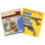 Konvolut von 2 Büchern: 1. König, Faustfeuerwaffen. 2. Heymann, Schusswaffenwerkbuch. Zustand