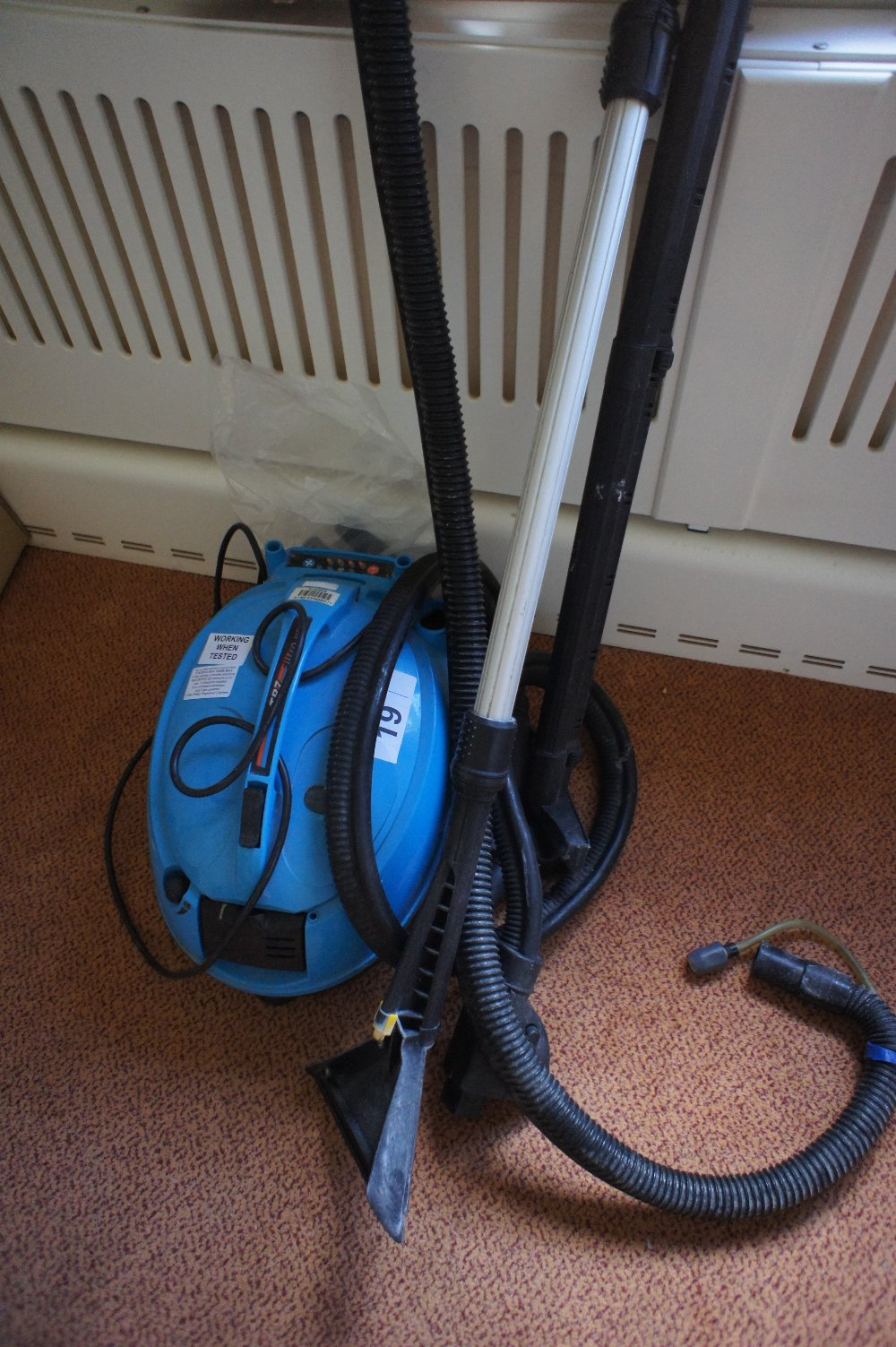 Lot 19 - 1 Filtro vap TR7 steam cleaner (located in room 7, Davey Court)