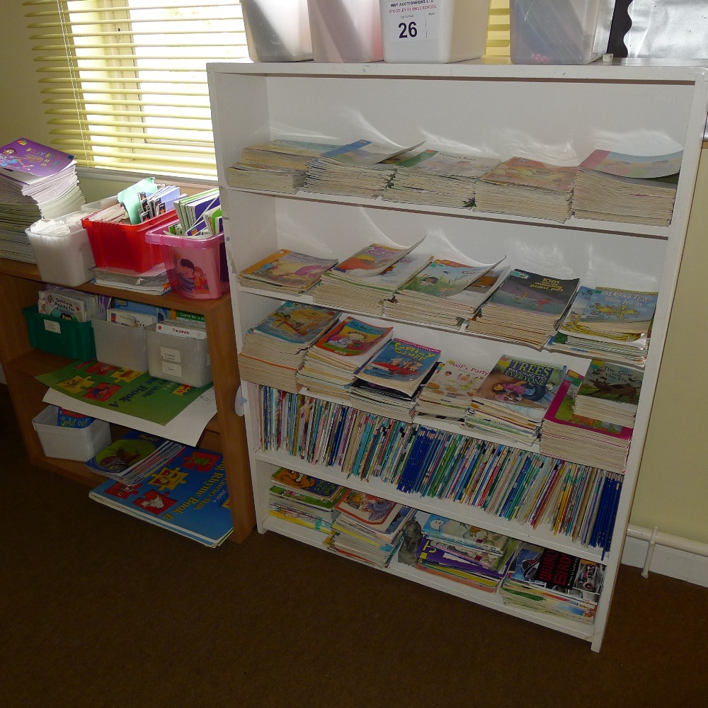 Lot 26 - a large qty. of misc. junior text books etc. (located in junior school first floor)