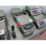 Ohaus table scales, model FD6, cap: max 6 kg, min .04 kg LIFT OUT CHARGE £5