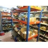 [Lot] M-Agnelli spare parts, contents of (3) upper shelves on center shelving unit LIFT OUT £50
