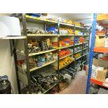 [Lot] M-Agnelli spare parts, contents on 4 shelf unit LIFT OUT £50