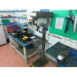 Optimum  drill press, model B26-Pro, with machine vise (2007) LIFT OUT CHARGE £30
