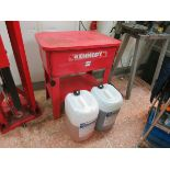 Kennedy  parts washer LIFT OUT CHARGE  £10