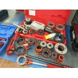 [Lot] Pipe  threading kit , Rothenberger Supertronic 2000 electric hand held threader LIFT OUT £10