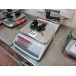Ohaus table scales, model V11P6, 6 kg capacity LIFT OUT CHARGE £5