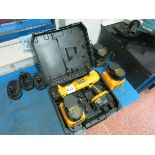 [Lot] Dewalt  cordless tools, includes drill, angle drill, assorted chargers LIFT OUT £5