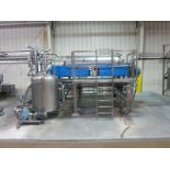 Centrisys decanter centrifuge, model CS-21-4, with SS support, (SUBJECT TO BULK BID OF LOTS 103-118)