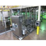HTST System, all SS mounted on SS frame, with AGC Pro-2-SH / 03313 plate heat exchanger, and