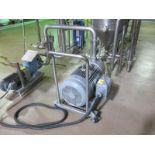 Corenco turbo disintegrator mill, with Teco-Westinghouse, (SUBJECT TO BULK BID OF LOTS 103-118)