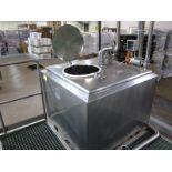 "Breddo Likwifier, model LDDW, s/n 97738 1436763, 250 gallon tank 48"" x 48""x 36"", 25 hp, with manhole"