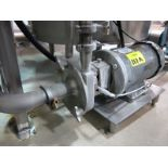 Centrifugal pump, with Baldor Super E drive, (SUBJECT TO BULK BID OF LOTS 103-118)