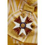 KÖNIGREICH PREUSSEN - ROTER-ADLER-ORDEN : Großkreuz aus der ersten Fertigungsserie von 1861 Gold und