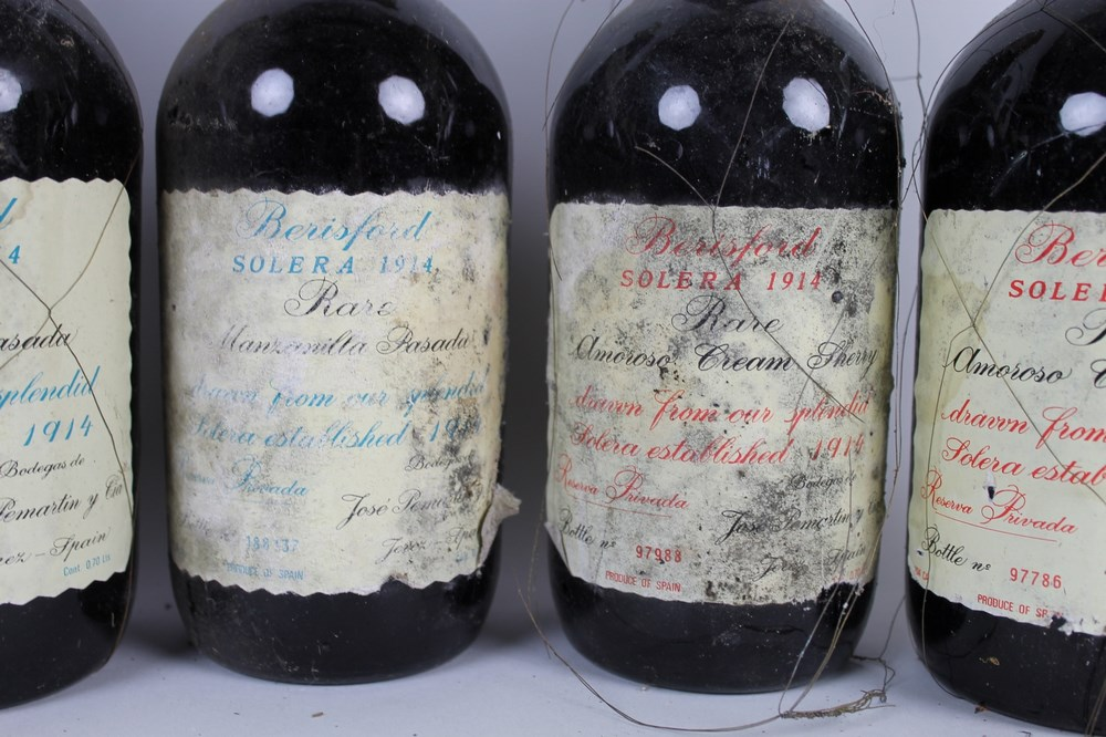 Vintage Sherry: three bottles (70cl) of Berisford Solera 1914 Sherry, Rare Amoroso Cream, - Image 2 of 2