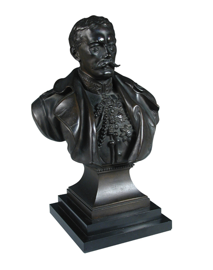 Richard Claude Belt (1851-1920), a bronze bust of Lord Kitchener together with other memorabilia