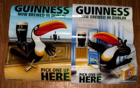 Pair of Guinness Posters.