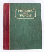 Pictures From Punch Bound Volume Vol IV, Bradbury Agnew London. Thousands Of Illustrations