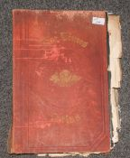 Large Folio Size - Times Atlas. New Edition 1900. Contains 196 Maps In Colour.