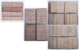 Winston. S. Churchill ( 4 Volumes ) The Second World War. Vol 1 -  The Gathering Storm. Vol 3 -