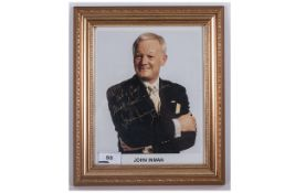 Signed Photo 'John Inman'