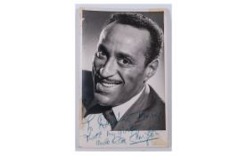 Signed Photo of Duke Ellington with Dedication - To Darling Tommy That's my Girl. Uncle Ray