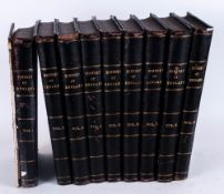Nine Volumes of Cassells History of England, Profusely Illustrated Throughout The Tones. c.1900.
