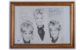 Signed Photo 'The Beverley Sisters'