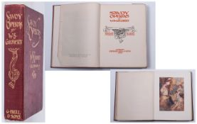 First Edition Book Savoy Operas By W.S.Gilbert 1909 Illustrated by W. Russell Flint In Colour.